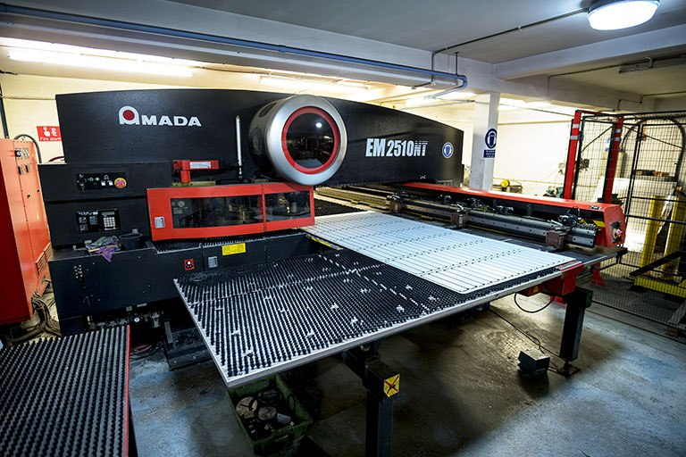 CNC Punching & Press braking